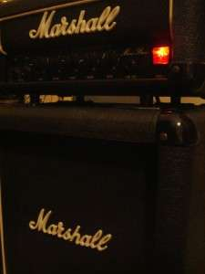 Rare MARSHALL Micro Bass amp Half Stack Model 3505 30W 1 x 10 Cab