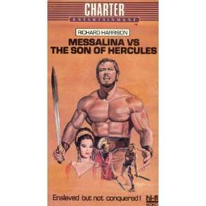 Messalina Vs. Son of Hercules [VHS] Richard Harrison