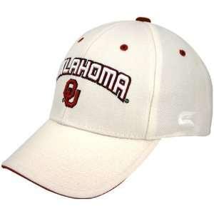 Oklahoma Sooners White Inbound Hat