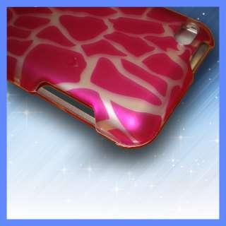 PINK GIRAFFE 2D HARD Case Cover iPod Touch 4 4th Gen