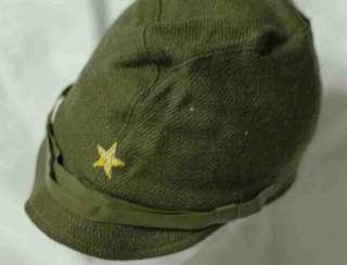 Vintage WWII Japanese Army Cap Hat helmet japan