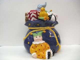 Mary Engelbreit  Christmas Toy Bag Cookie Jar