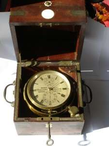 Wow Mega rare antique Dent London marine deck CHRONOMETER c1850s