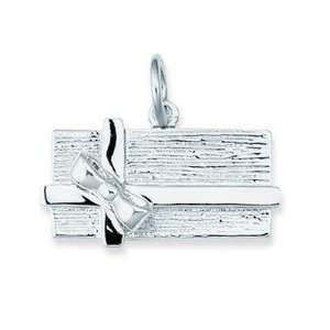 Sterling Silver Chocolate Candy Box Charm Jewelry
