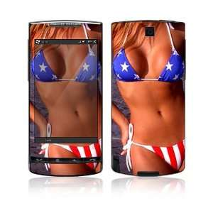 US Flag Bikini Protective Skin Cover Decal Sticker for HTC