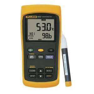 Single Input Thermometer, DataLogging and 2AC Volt Tester TED logo