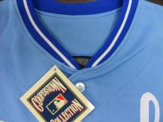 NEW Bo Jackson Kansas City Royals #16 Majestic Throwback Cooperstown