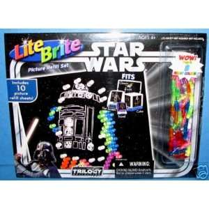 Lite Brite Star Wars Picture Refill Set Toys & Games
