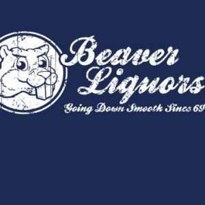Beaver Liquors T Shirt   XXL