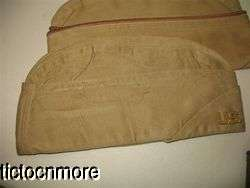 LOT GARRISON OVERSEAS HAT CAP UNIFORM OLIVE DRAB OD WOOL KHAKI