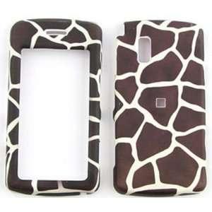 LG VU cu920Brown Giraffe Print Hard Case/Cover/Faceplate/Snap On