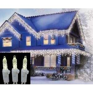 LED Icicle Light String   100 Lights/6 FT Strands Patio, Lawn