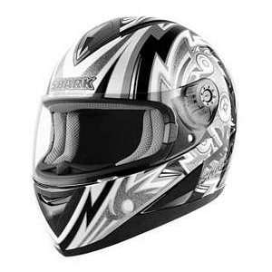 Shark S650 FRAME BK_SN_WT SM MOTORCYCLE Full Face Helmet