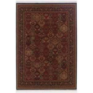 Couristan Taj Mahal Panel Kerman Rose Scarlet 73571872 Traditional 7