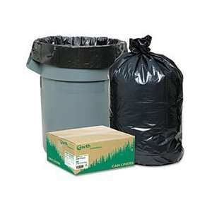 Recycled Large Trash and Yard Bags, 33 gal, .9 mil, 32.5 x
