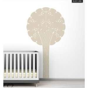 Cornet Tree Black Label Wall Decal