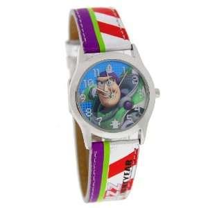 Disney Toy Story Kids Analog Watch With Silver Strap