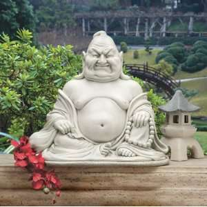 Maitreya The Laughing Buddha statue home garden sculpture