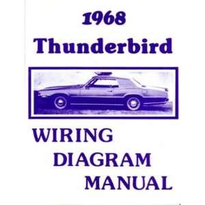 1968 FORD THUNDERBIRD Wiring Diagrams Schematics