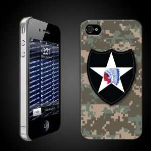 Military Divisions iPhone Case Designs 2nd Infantry Division