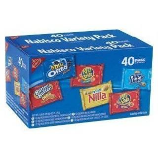Nabisco 100 Calorie Packs Variety Box Twenty Six Pouch Box