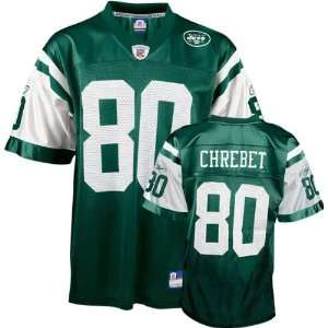 com Wayne Chrebet Green Reebok NFL Replica New York Jets Youth Jersey