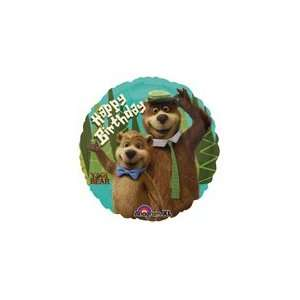Yogi Bear Birthday Balloon Mylar 18 Inch Decoration Toys & Games