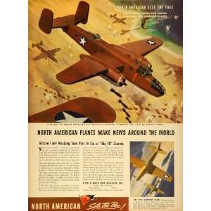 North American Aviation WWII War Production Military Aircraft Bomber