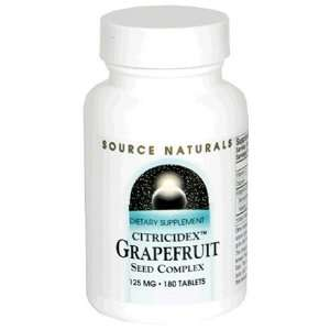 Source Naturals Citricidex Grapefruit Seed Complex, 125 mg
