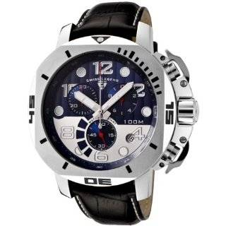 Swiss Legend Mens 10541 01 BB Trimix Diver Collection Chronograph