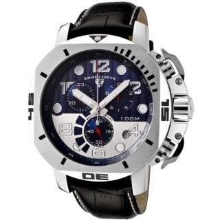 Swiss Legend Mens 10541 01 BB Trimix Diver Collection Chronograph