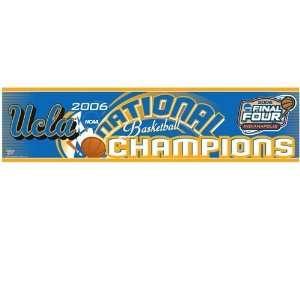 UCLA Bruins 2006 National Champions Bumper Sticker Sports