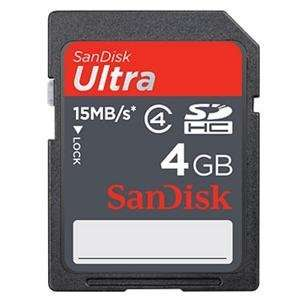 NEW 4GB Ultra SDHC Card (Flash Memory & Readers) Office