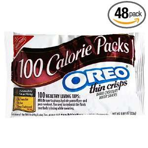 100 Calorie Packs, Oreo Thin Crisps: Grocery & Gourmet Food