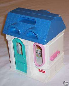 Blue Roof Fisher Price Toy Doll House