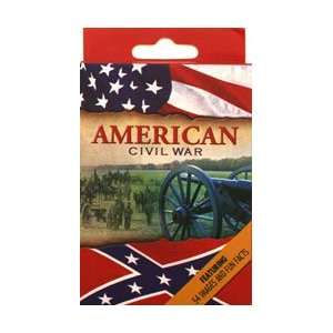 American Civil War Playing Cards Toys & Games
