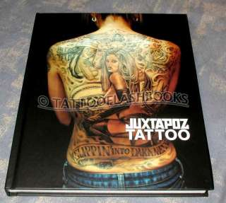 JUXTAPOZ Tattoo Flash Machine MISTER CARTOON Book