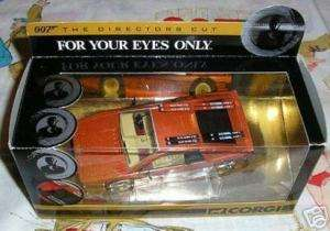 CORGI DIRECTORS CUT JAMES BOND LOTUS ESPRIT TURBO FYEO