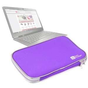 Durable Water & Impact Resistant Purple Neoprene Laptop