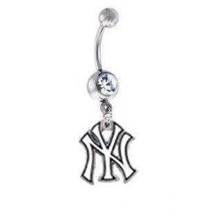 New York Giants NFL Sexy Belly Navel Ring Jewelry