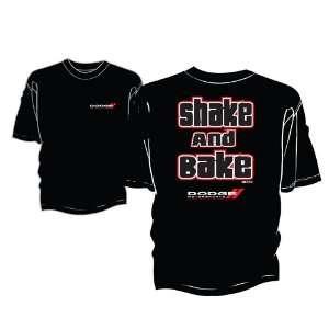 Dodge Motorsports Black Shake & Bake Mens Tee Shirt Xlarge