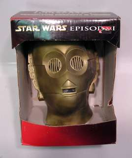 Star Wars C 3PO Droid Deluxe Helmet/Mask  Rubies Boxed (SWMASK09