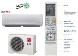 LG Ductless Mini Split Air Conditioner SEER 18 COOL/HEAT ENERGY STAR