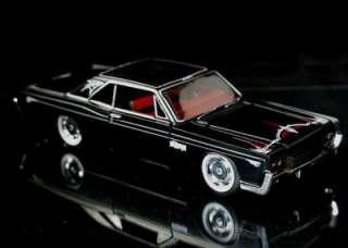 1966 Lincoln Continental MAISTO CUSTOM SHOP Flat Black w/Pinstriping 1