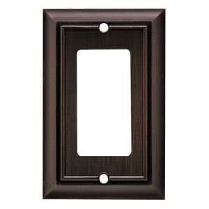 64238 Architectural Single Decorator wall plate