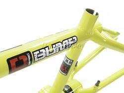 GT BUMP BMX / DIRT BIKE FRAME   Intense Yellow