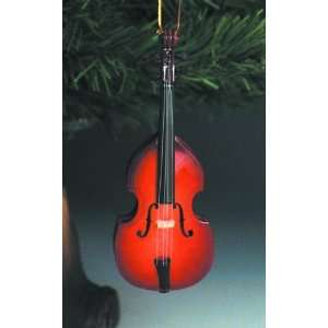 Upright Bass Christmas Ornament Large Musical Instruments