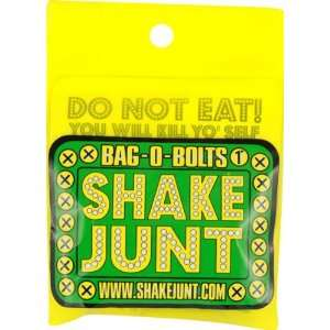 Shake Junt Bag O Bolts Black Green Yellow 1 Phillips 1set