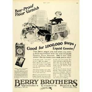 German Shepherd Puppy Berry Granite   Original Print Ad Home