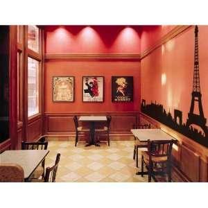 Paris Skyline   Vinyl Wall Decal